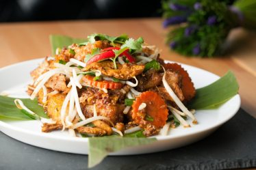 Poulet thaï aux pousses de soja