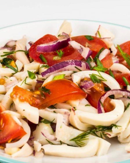 Salade calamars